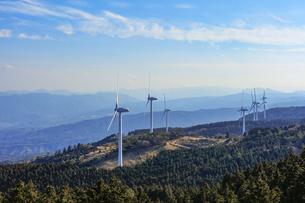 久居榊原風力発電施設(青山高原ウインドファーム)の写真素材 [FYI04665098]
