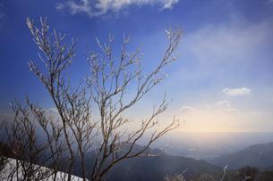 御在所岳 樹氷の写真素材 [FYI04665118]