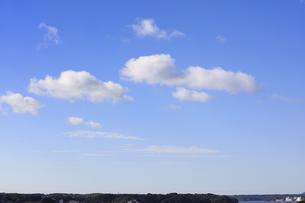 伊勢志摩の冬の青空-12月の写真素材 [FYI04665310]