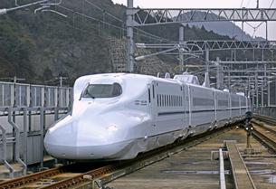 新幹線N700系の写真素材 [FYI04665498]
