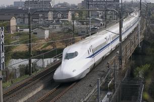 新幹線N700系の写真素材 [FYI04665511]