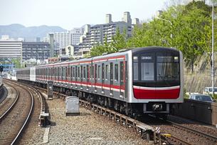 大阪地下鉄30000系の写真素材 [FYI04665531]