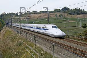 新幹線N700系の写真素材 [FYI04665573]
