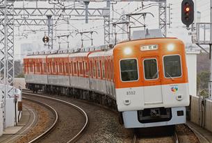 阪神8000系の写真素材 [FYI04665599]