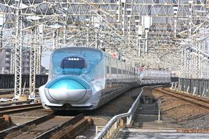 東北新幹線E5系の写真素材 [FYI04665632]