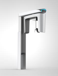 状態表示ランプ付きのCBCTレントゲンイメージの写真素材 [FYI04665832]