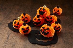 Halloween Jack-o'-Lanternの写真素材 [FYI04666001]