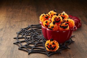 Halloween Jack-o'-Lanternの写真素材 [FYI04666021]
