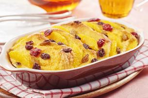 パンプディング (bred pudding)の写真素材 [FYI04666045]