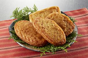 さつま揚げ (deep fried ball of fish paste)の写真素材 [FYI04666110]