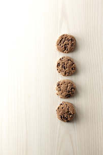 chocolate chip cookieの写真素材 [FYI04666161]