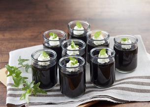 コーヒーゼリー coffee jellyの写真素材 [FYI04666167]