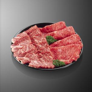 和牛すき焼き用・焼肉用の写真素材 [FYI04666213]