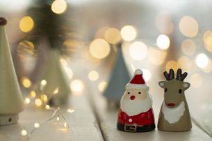 クリスマスオーナメントの写真素材 [FYI04666419]