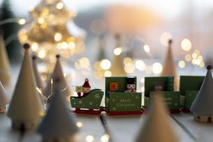 クリスマスオーナメントの写真素材 [FYI04666422]