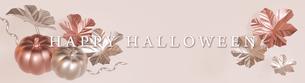 Halloween,Pumpkin,Metallic,かぼちゃ,CG,ハロウィン,光沢,金属_long_titlのイラスト素材 [FYI04666476]