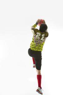 ボールを止めるゴールキーパーの写真素材 [FYI04666776]