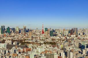 東京都市風景の写真素材 [FYI04667090]