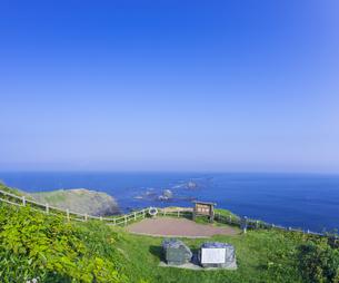 北海道 自然 風景 襟裳岬の写真素材 [FYI04667716]