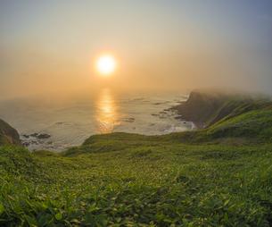 北海道 自然 夕日の写真素材 [FYI04667729]
