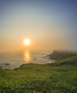 北海道 自然 夕日の写真素材 [FYI04667734]