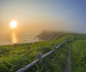 北海道 自然 夕日の写真素材 [FYI04667738]