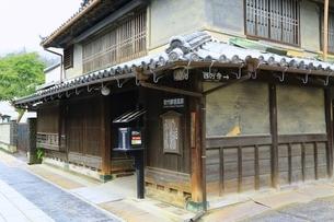 上吉井邸(旧郵便局)の写真素材 [FYI04668114]