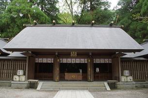 高千穂の風景 天岩戸神社 西本宮の写真素材 [FYI04668361]