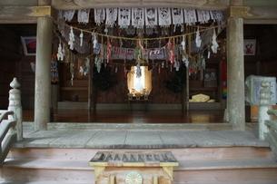 高千穂の風景 天岩戸神社 西本宮(神楽殿)の写真素材 [FYI04668363]
