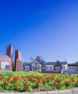 北海道  風景 鉄道駅の写真素材 [FYI04668976]