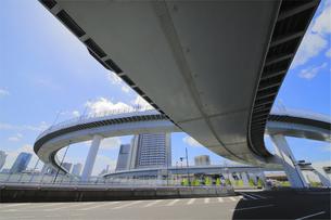 首都高速道路 東雲ジャンクションの写真素材 [FYI04669173]