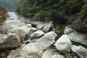 栃木県那須の渓谷の写真素材 [FYI04669435]