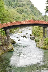 日光二荒山神社 神橋01の写真素材 [FYI04669927]