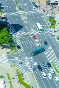 関西の風景 神戸市 フラワーロードの写真素材 [FYI04670043]
