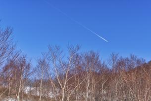 赤城山 小沼の冬景色の写真素材 [FYI04670114]