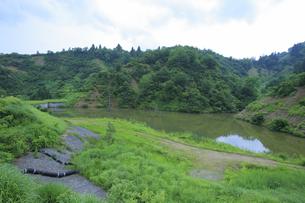 神沢川砂防堰堤 の写真素材 [FYI04670294]