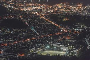 小樽・天狗山からの夜景の写真素材 [FYI04670455]