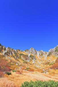 秋の中央アルプス千畳敷カールの写真素材 [FYI04670717]