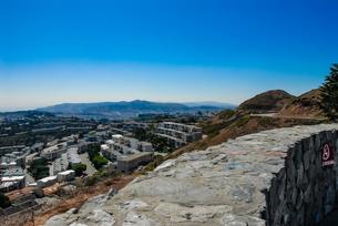ツインピーク展望台からサンフランシスコの街並みの写真素材 [FYI04670762]
