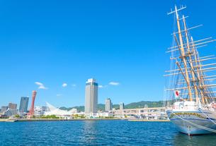関西の風景 神戸市 ベイエリアの街並みの写真素材 [FYI04670798]