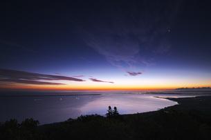サロマ湖の朝の写真素材 [FYI04670923]