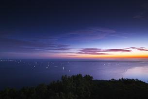 サロマ湖の朝の写真素材 [FYI04670925]