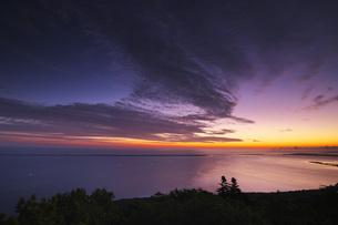 サロマ湖の朝の写真素材 [FYI04670928]