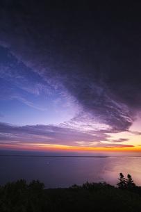サロマ湖の朝の写真素材 [FYI04670930]