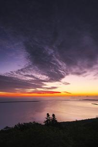 サロマ湖の朝の写真素材 [FYI04670931]