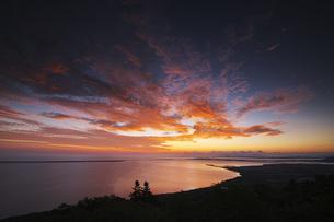 サロマ湖の朝の写真素材 [FYI04670933]