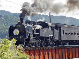 大井川鐡道の蒸気機関車(SL)の写真素材 [FYI04671080]