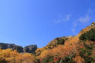 秋の穂高岳の写真素材 [FYI04671087]