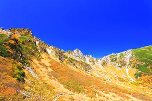 秋の中央アルプス千畳敷カールの写真素材 [FYI04671186]