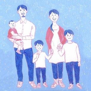 家族のイラスト素材 [FYI04671250]